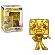 Golden King Dice POP