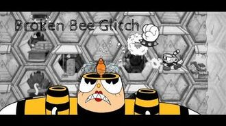 Cuphead Broken Bee Glitch! (REDO)