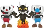 All Three Vinyl Figures