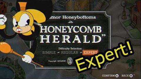 Cuphead - Honeycomb Herald -Expert-