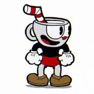 Cuphead's full body