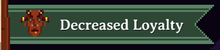 Decreased loyalty tag