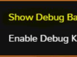 DebugBar