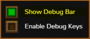 ShowDebugBar