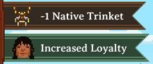 Increase Loyalty Trinket