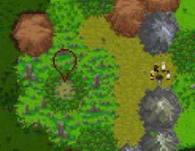 Stone circle map