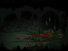 Full spider cave