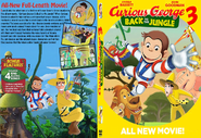 Curious George 3 DVD Cover (ReMade form)