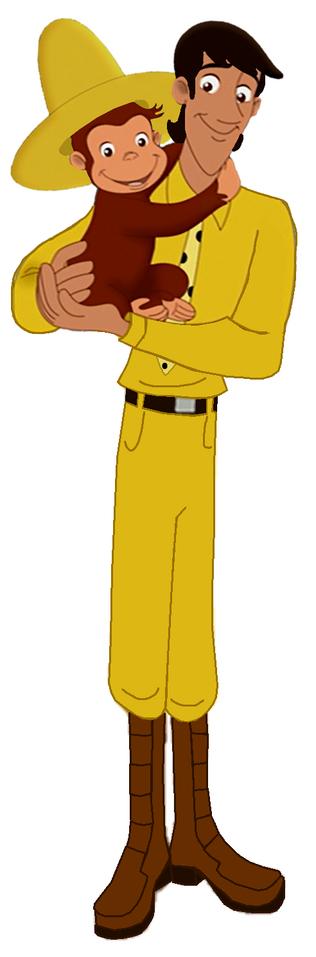 Curious George 4- Ted & George