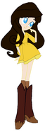 Curious George 4- Vanessa (Ted's Superfan)