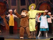 Curious George Live- Ted Shackleford