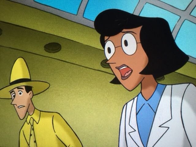 Is the man with the yellow hat dating professor wiseman