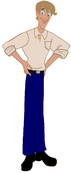 Curious George (Reboot)- Ted Shackleford (normal person form)