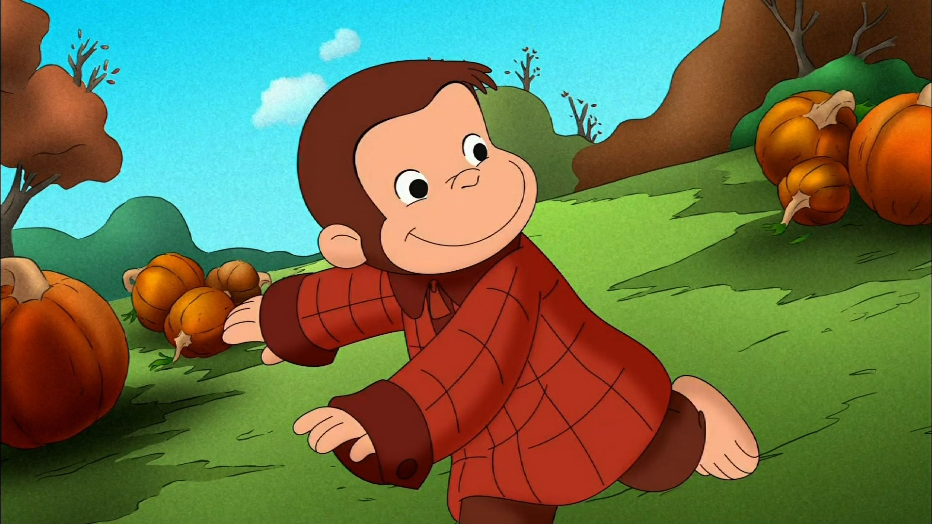 Curious George Wallpaper 3