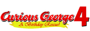 Curious George 4 A Birthday Rescue title