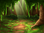 Forest background by whitewolf16
