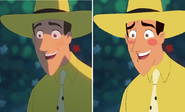 Curious George- Ted before and After (3)