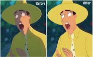 Curious George- Ted before and After (1)