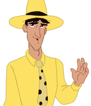 Curious George 4- Ted Shackleford (color edit)