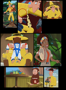 Curious George 3 mistakes or Outtakes