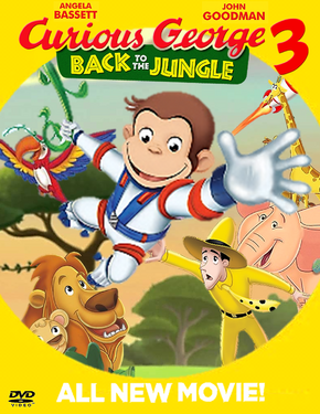 Curious George 3 Back to the Jungle DVD (Release!)