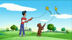 Curious George Flies a Kite (cover)
