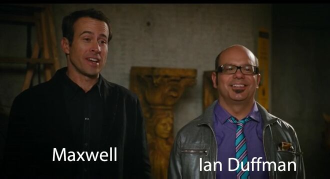 Maxwell (Jason Lee) and Ian Duffman (David Cross) are good friends with Curious George & Ted & Gerald Troy & Daphne