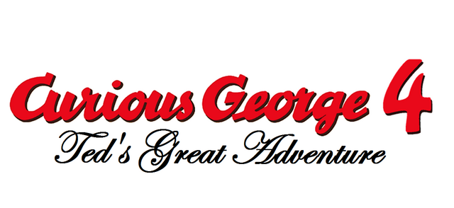 File:Curious George 4 Ted's Great Adventure Title (no background).png