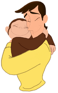 Curious George and Ted (2)