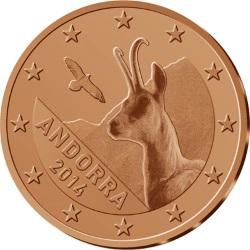 Andorra 1,2,5 eurocents obv