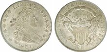 US 1807 dime
