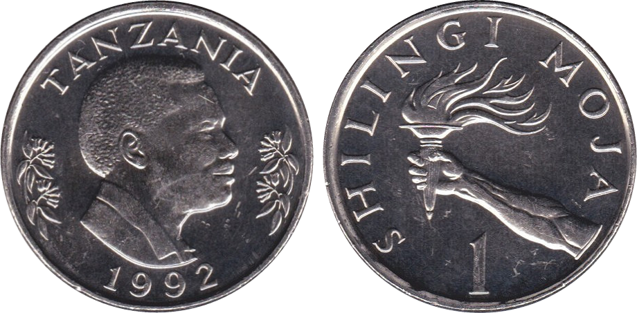Tanzanian 1 Shilling Coin Currency Wiki Fandom Powered By Wikia