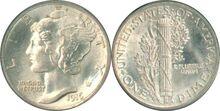 1916D Mercury