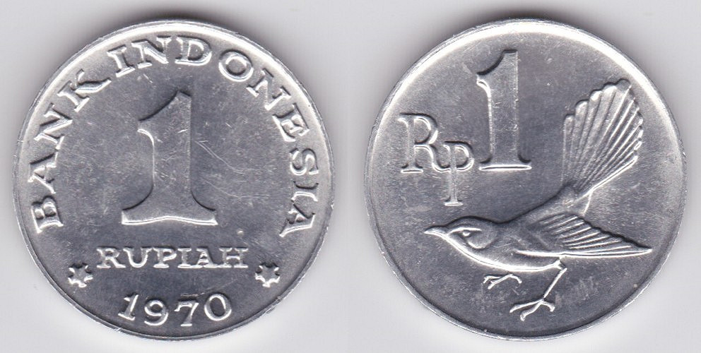 Indonesian 1 rupiah coin   Currency Wiki   Fandom