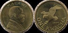 Malawi 1 kwacha 1996