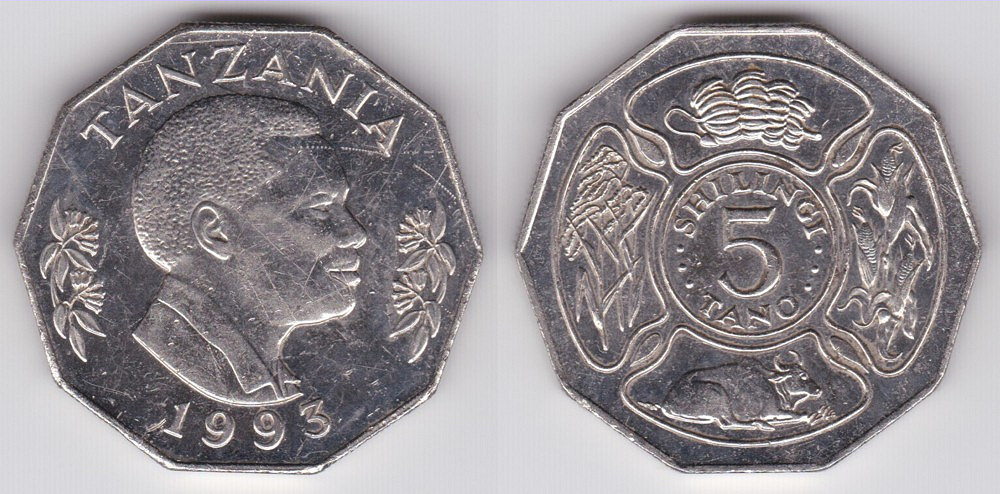 Tanzanian 5 Shilling Coin Currency Wiki Fandom Powered