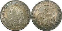 1824 half dollar