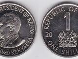 Kenyan 1 shilling coin