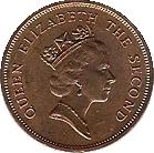 Tuvalu 1 cent 1994 obv
