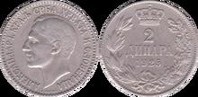 Yugoslavia 2 dinara 1925