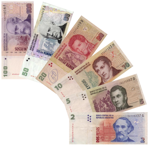 File:Argentine peso notes.png