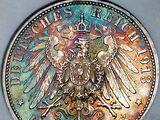 German 3 mark coin (1908-1918)