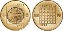 Swiss commemorative coin 1998b