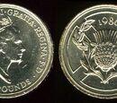British 2 pound coin/Commemorative coins