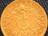 German 10 mark coin (Gold mark)