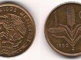 Mexican 1 centavo coin