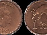 Zambian 1 ngwee coin