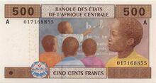 500 XAF 2002 obv