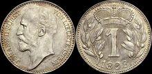 Liechtenstein 1 krone 1898