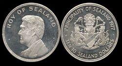 Sealand 10 dollars Roy